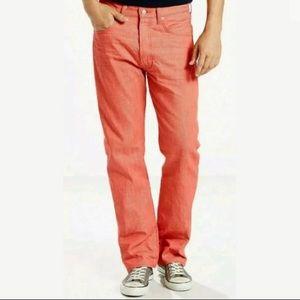 Levi's Men's 501 Original Fit Peach Jeans 36x32